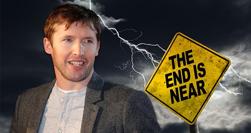 James Blunt 2017 Twitter Warning