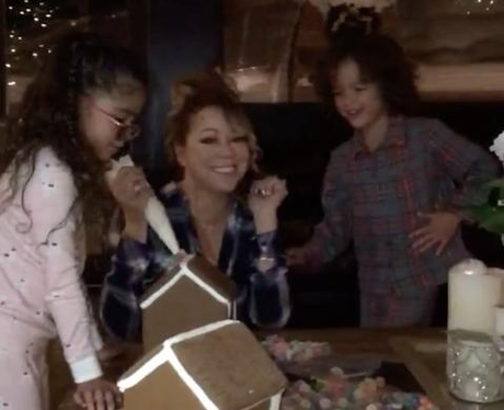 Mariah Carey And The Twins Show Off Their Baking S