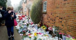 floral tributes oxfordshire george michael week on