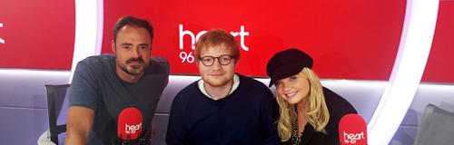 Ed Sheeran Heart Breakfast