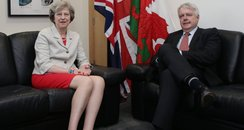 Carwyn Jones and Theresa May