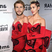 20. Who wore it best? Miley Cyrus pokes fun at boyfriend Liam Hemsworth wearing the same dress!