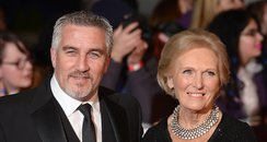 Paul Hollywood and Mary Berry NTAs 2014