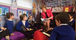 Nicola Sturgeon's reading challenge book