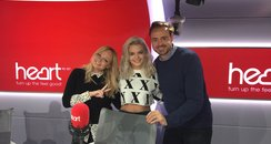 Jamie And Emma With Louisa Johnson