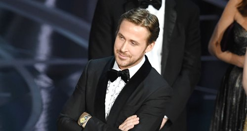 Ryan Gosling Smirking Oscars La La Land Mix-up