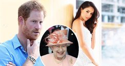 Prince Harry Meghan Markle Meeting Queen Canvas