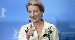 Emma Thompson thumbs up