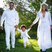 3. It's An All-White Family Affair At Ciara's Baby Shower