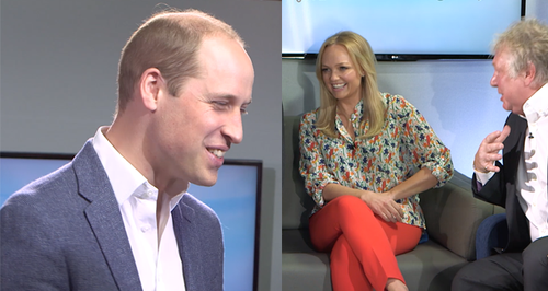 EXCLUSIVE: Watch Prince William Ask Emma Bunton Fo