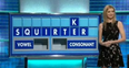 Rachel Riley countdown rude word