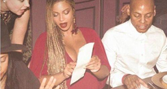 Beyonce At Dinner Meme