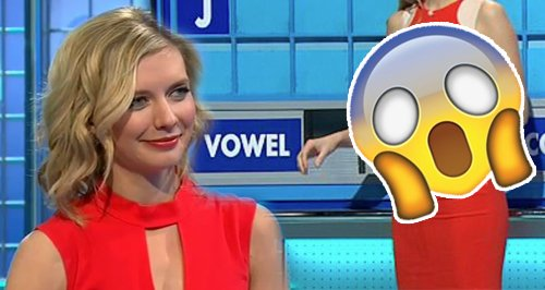 Countdown Star Rachel Riley Dress Sell Out Canvas