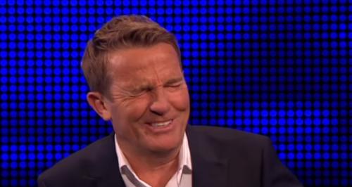 Bradley Walsh laughing