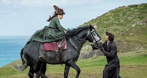 Poldark Tames A Horse With His Eyes And Fans Can't