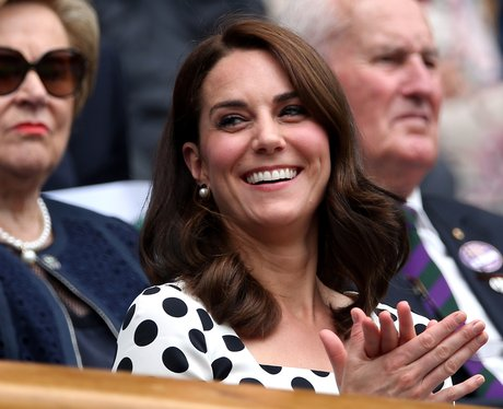 Kate Middleton Wimbledon new hair