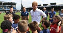 Prince Harry in Leeds