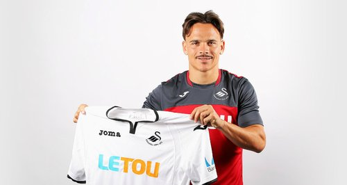 Roque Mesa excited to play for Swansea boss Clement