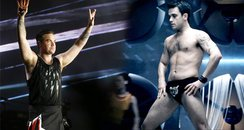 Robbie Williams Tiger Pants Gig Asset