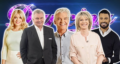 Phillip Schofield and Holly Willoughby host Dancing On Ice