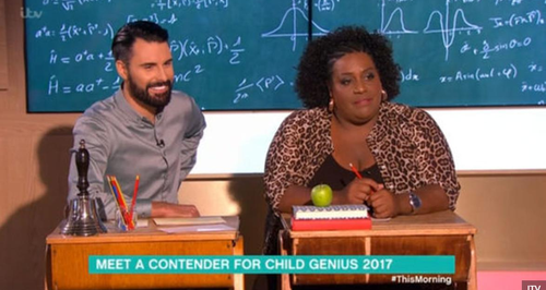 Rylan This Morning Maths Question