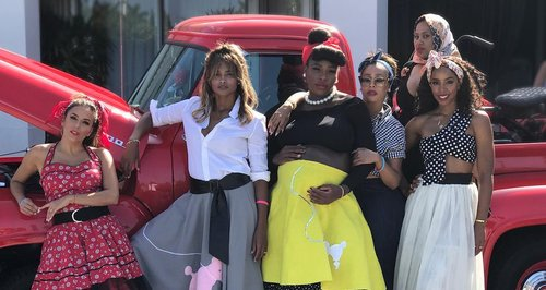 Serena Williams Threw A 1950s Themed Baby Shower A