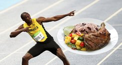 Usain Bolt Fast Food Restraunt Asset