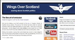 Wings Over Scotland arrest