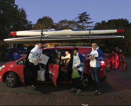 Gemma's team preparing to set off