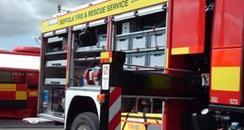 Suffolk fire engine