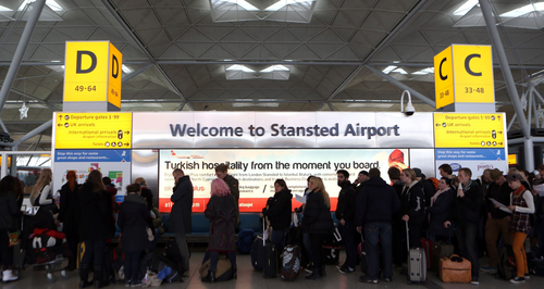 Stansted Airport Departure Lounge